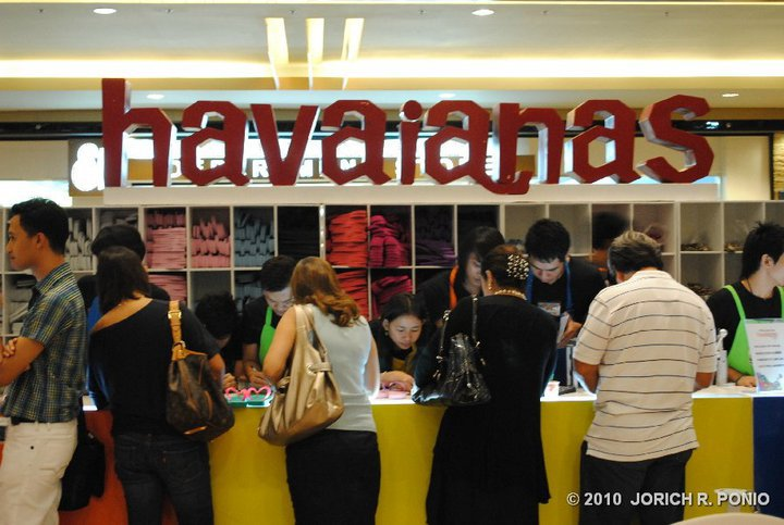 Make Your Own Havaianas 2010 Cebu