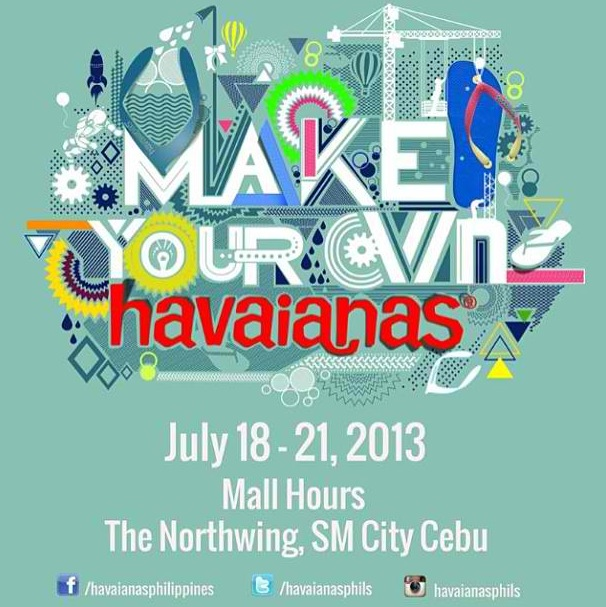 Make Your Own Havaianas 2013 Cebu