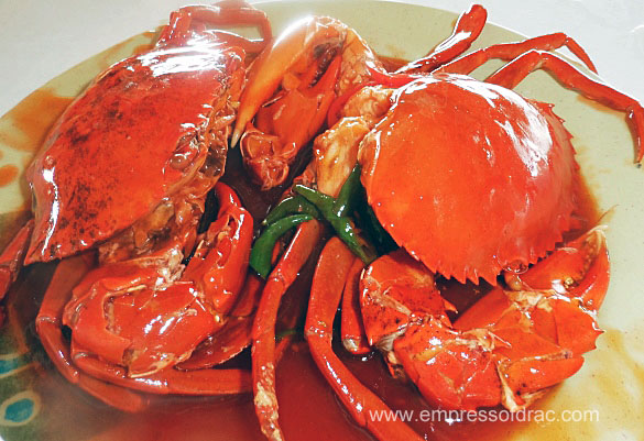 Mud Crab in Chilli Sauce 2 Sutukil Lapulapu