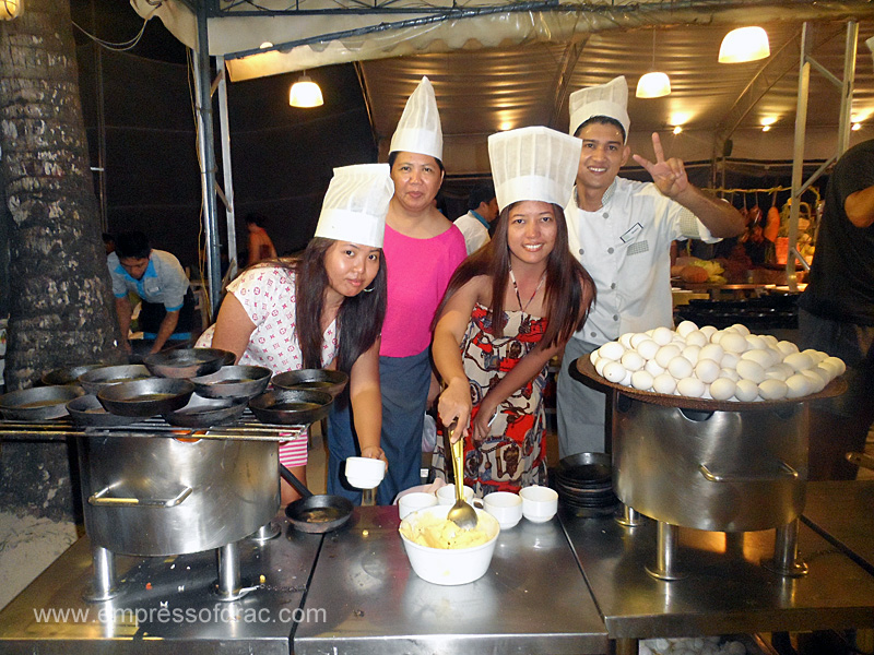 With the Dancing Chefs - Boracay Island 2013