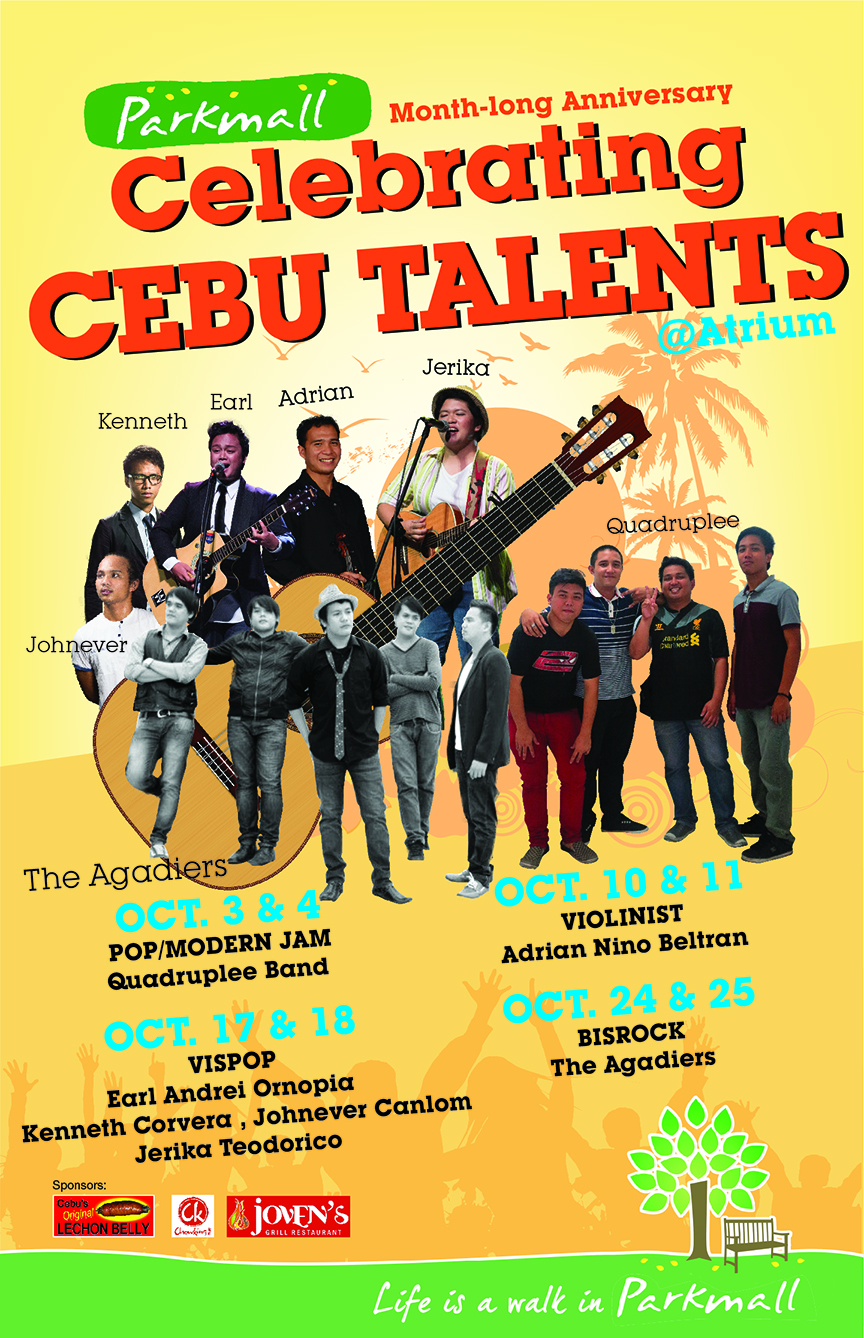 Parkmall Celebrates Cebu Talents