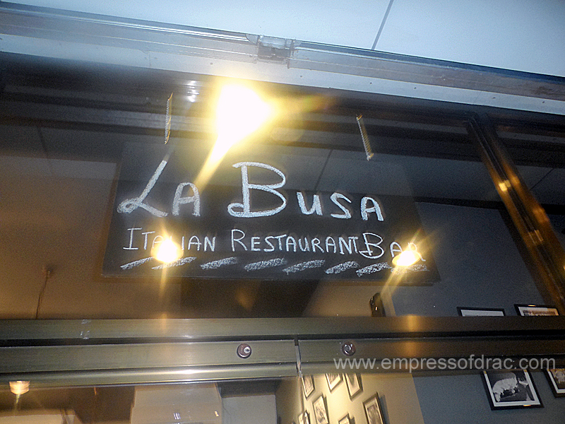 La BUSA Italian Restaurant & Bar, Newly Opened Hangout Place for Italian Food Lovers