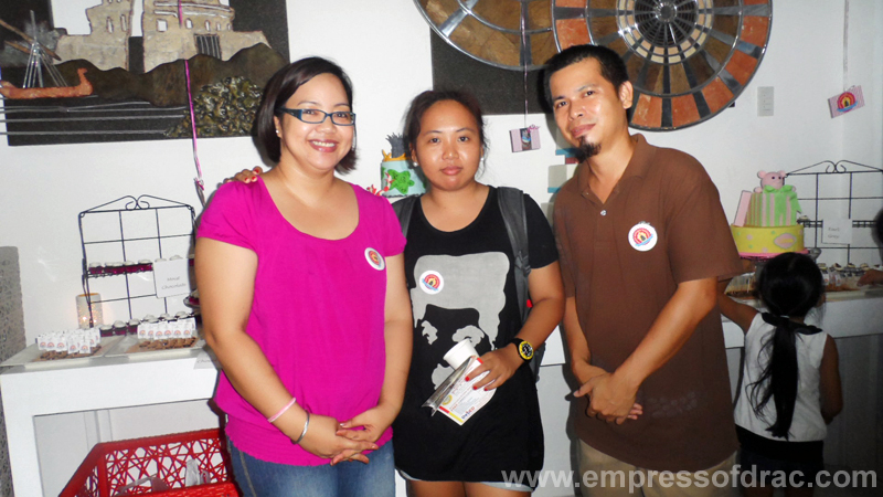 With Iris and Marcel - PH Bakehouse Cebu Owners
