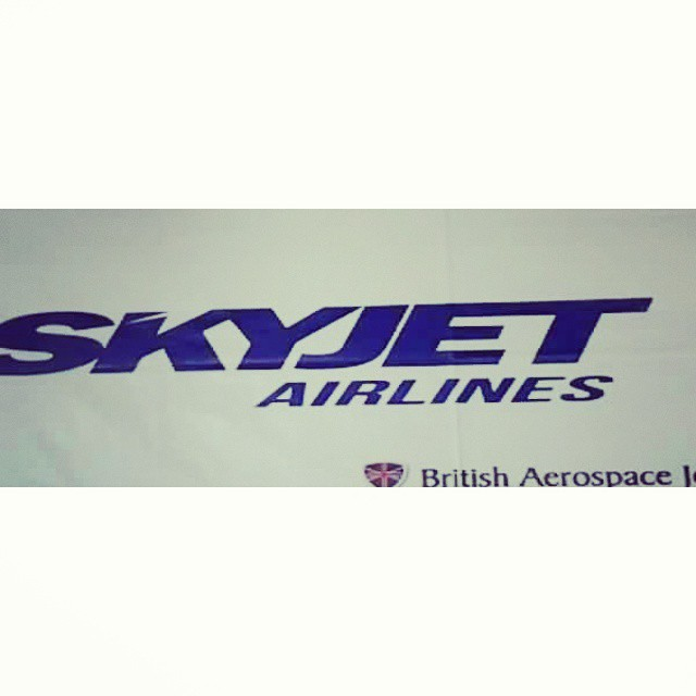 Getting our #tickets here for tomorrow's flight to Basco, Batanes. #Batanes2015Trip #skyjetairlines