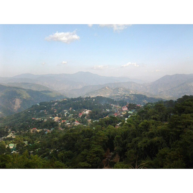 Baguio City, the summer capital of the Philippines. #baguio #baguiocity #mountaincity #mountain #sky