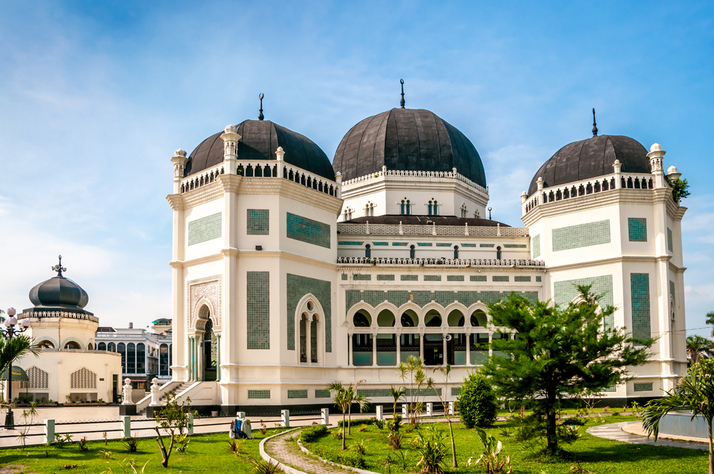 The Grand Mosque, Medan - Shutterstock