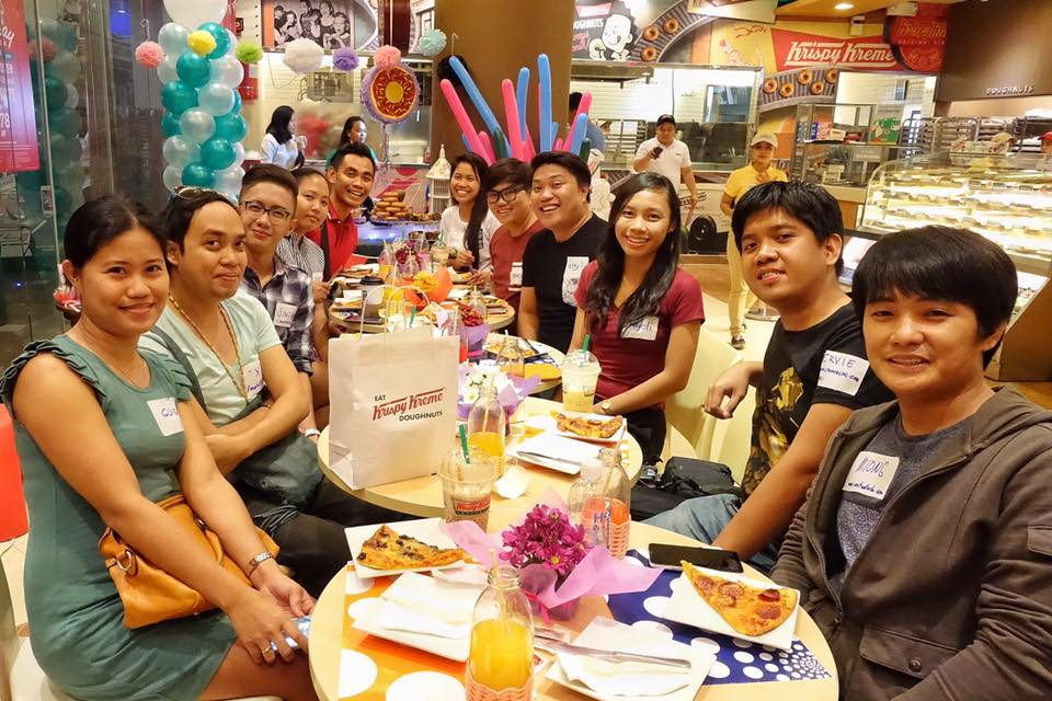 Cebu Bloggers Society Celebrates Krispy Kreme 78th Birthday