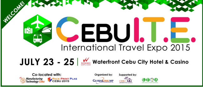 Join Cebu International Travel Expo on July 23 to 25 (Press Release)
