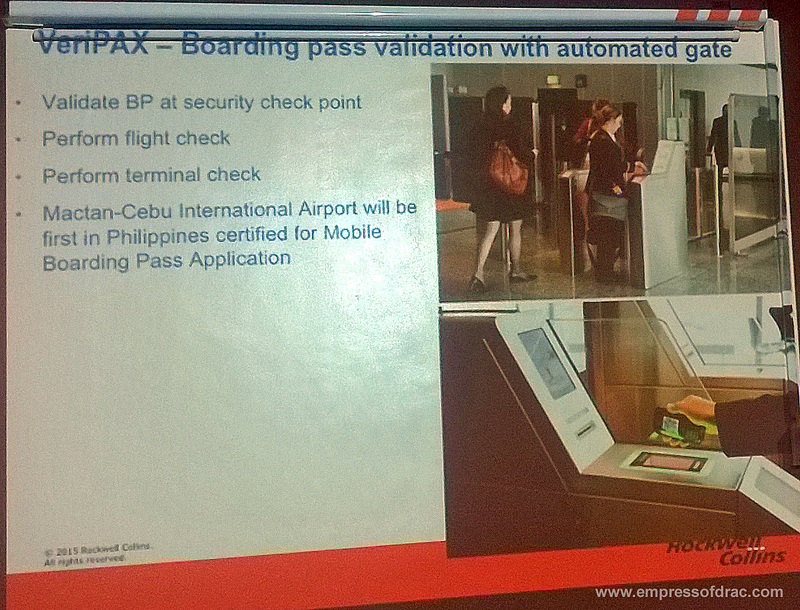 Mactan Cebu International Airport Boarding Pass Validation with Automated Gate