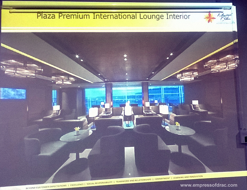 Mactan Cebu International Airport Plaza Premium International Lounge Interior
