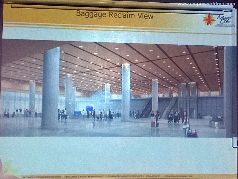 Mactan Cebu International Airport Terminal 2 Baggage Reclaim View