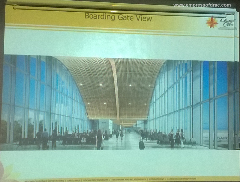 Mactan Cebu International Airport Terminal 2 Boarding Gate View