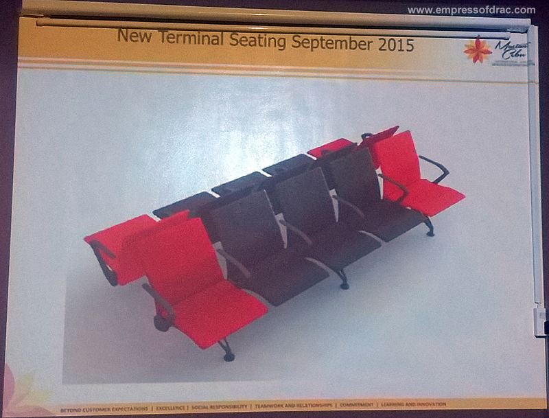 Mactan Cebu Interntional Airport New Terminal Seating