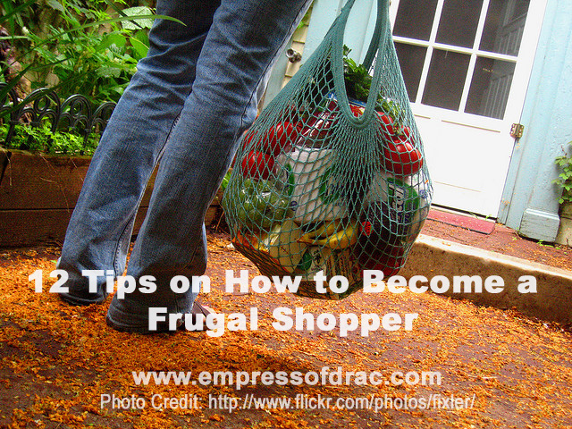 12 Tips on How to Become a Frugal Shopper