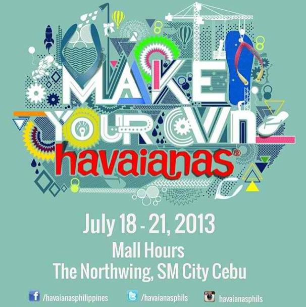 Make Your Own Havaianas 2013 Cebu