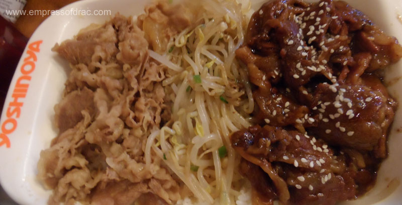 Beef Yakiniku - Yoshinoya Manila