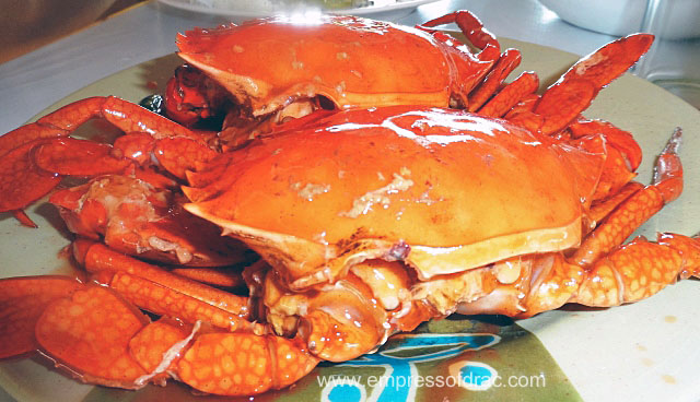 Mud Crab in Chilli Sauce Sutukil Lapulapu