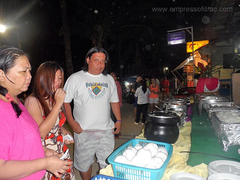 Buffet Dinner - Boracay Island 2013