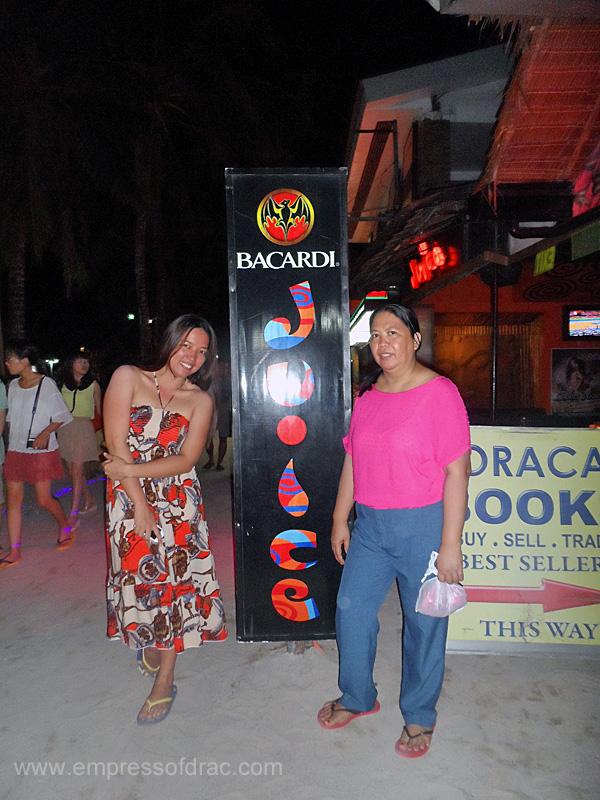 Minotte and Mama - Boracay Island 2013