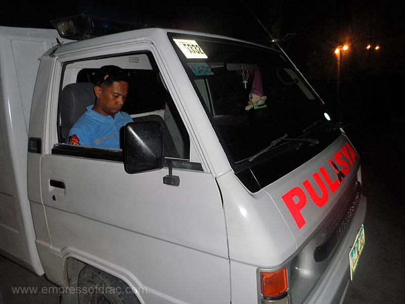 Police Car - Boracay Island 2013