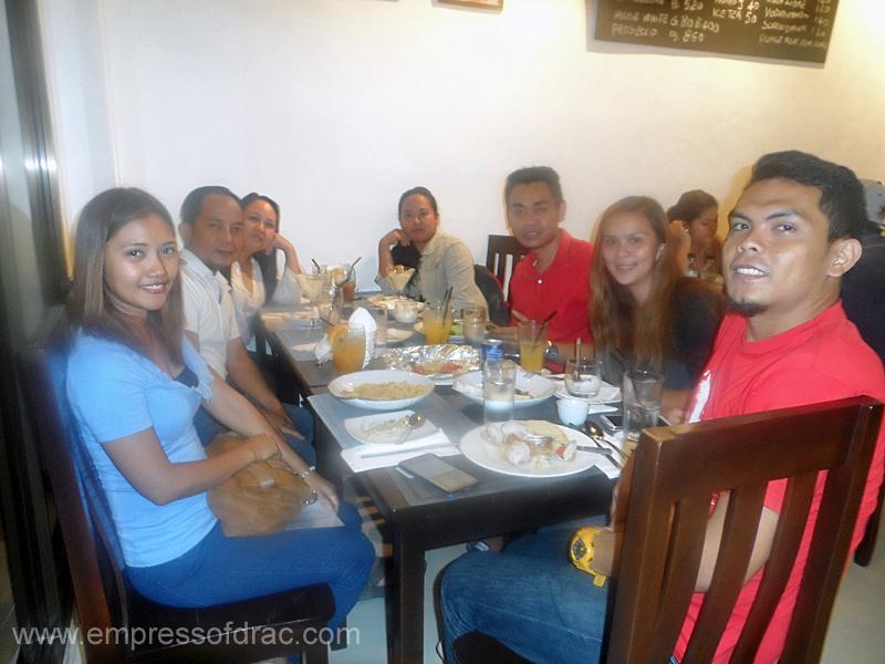 La Busa Italian Restaurant Cebu - Cebu Bloggers Society Members 2