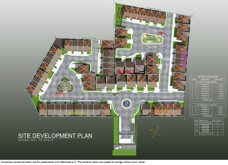 Harmonis Residences Lagtang Talisay Cebu Sold Units as of November 13 2014