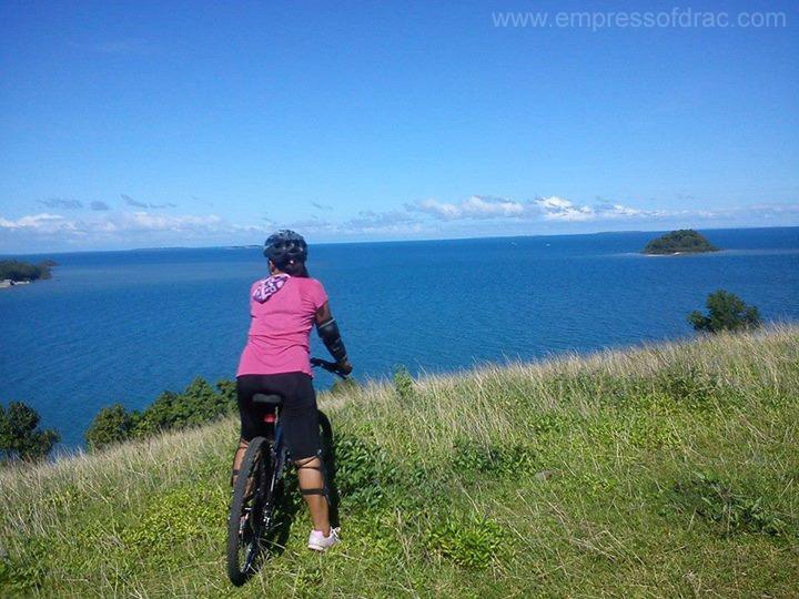 Biking in Moto Pitogo Island Bohol