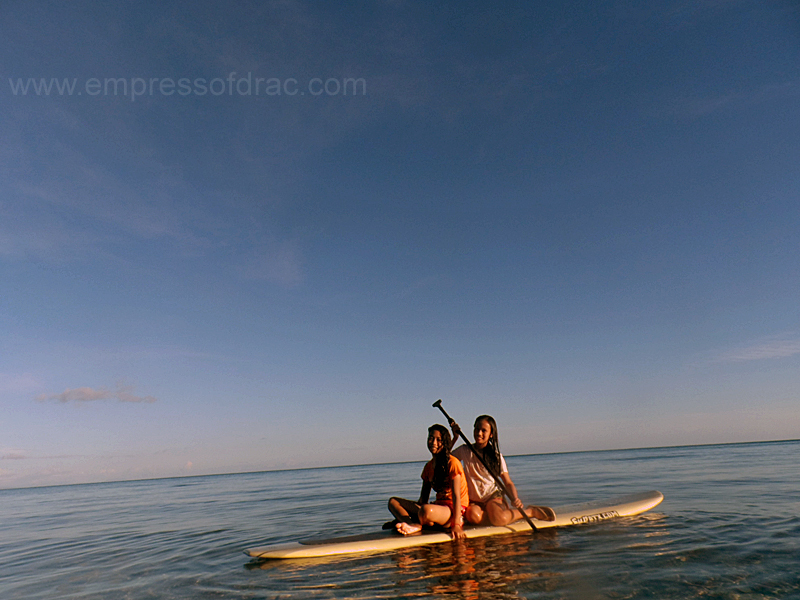 Paddle Boarding Aguining - Pitogo Island President Carlos P Garcia Bohol