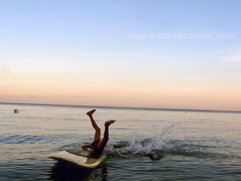 Paddle Boarding Failed - Pitogo Island President Carlos P Garcia Bohol