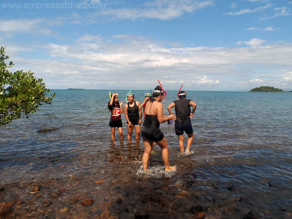 Snorkeling at Pong Gamay