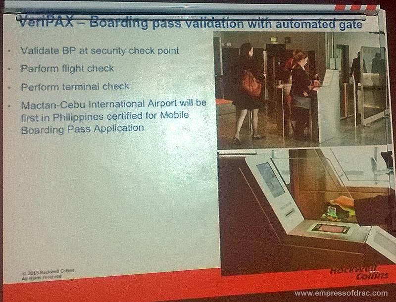 Mactan Cebu International Airport Boarding Pass Validation with Automated Gate