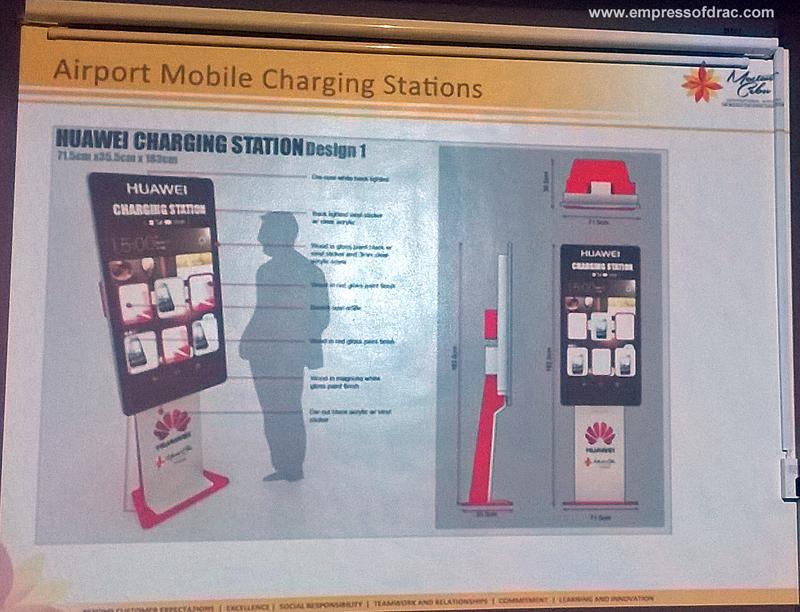Mactan Cebu International Airport Mobile Charging Stations
