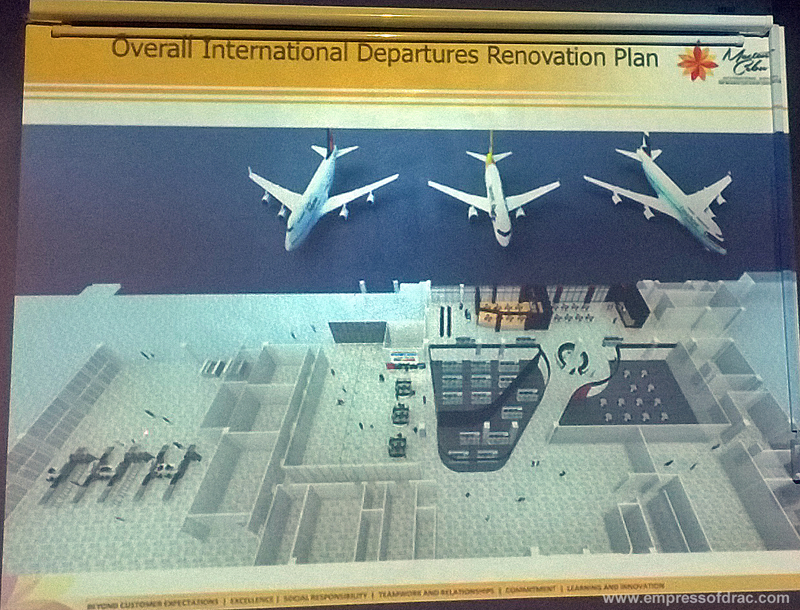 Mactan Cebu International Airport Renovation Plan for Overall International Departures