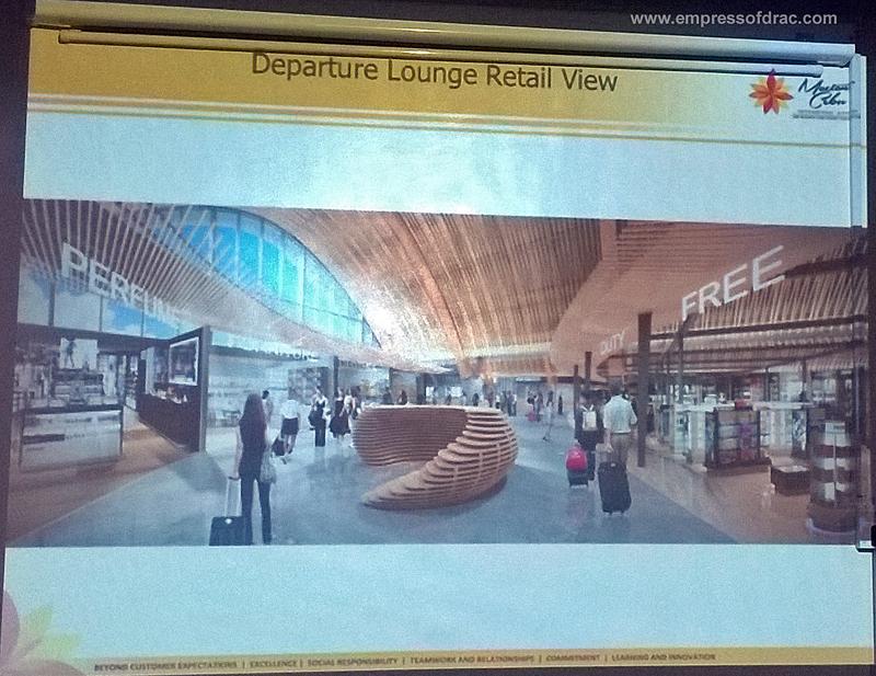 Mactan Cebu International Airport Terminal 2 Departure Lounge Retail View