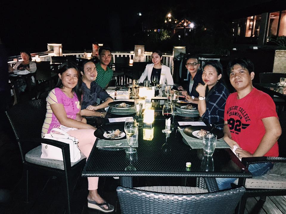 Cowrie Cove Restaurant Shangrila Mactan with Cebu Bloggers Society